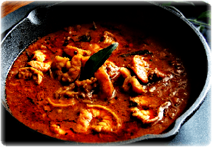Kolambi Kalvan – Malvani Prawns curry