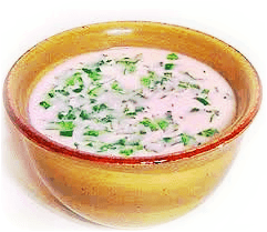 कोकम कढी - kokam kadhi