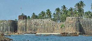 सिंधुदुर्ग जिल्हा - Sindhudurg Fort Malvan