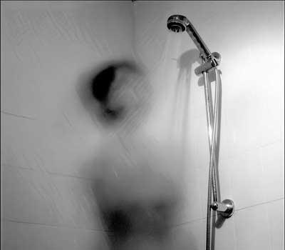 Shower bath at 2am